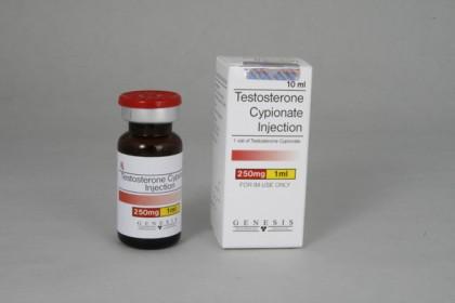 Testosteron Cypionate injektion 250mg/ml (10ml)