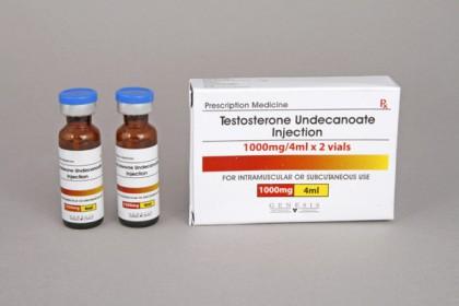 Testosteron Undecanoate injektion 500mg/amp (2 amp)